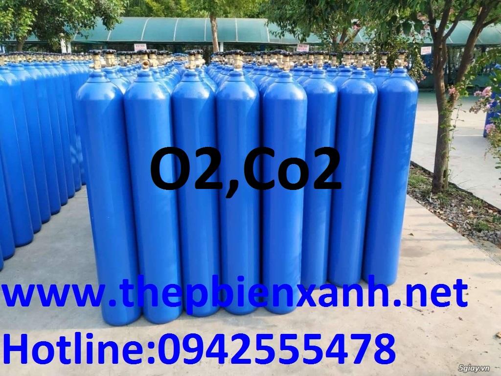 Khí Co2,o2 25kg /chai/ 6m3